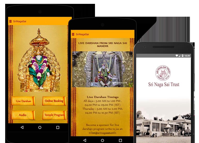 Srinagasai Mobile Apps